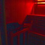 Détail sauna