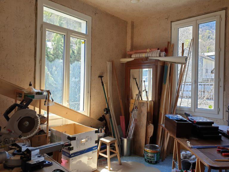 Chambre 3 avant travaux